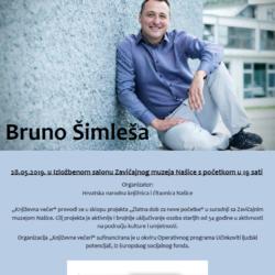 Književna večer – Bruno Šimleša